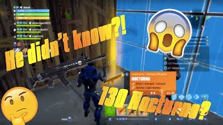 *Hilarious!* Giving Away A Nocturno For FREE! | Fortnite Save The World