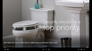 Feel Safe and Secure With Bemis Independence Elevated Toilet Seats - Westech Health Care Canada