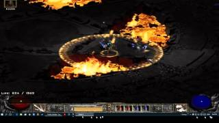 Diablo2: Ultimate Lightning/Cold sorceress gameplay