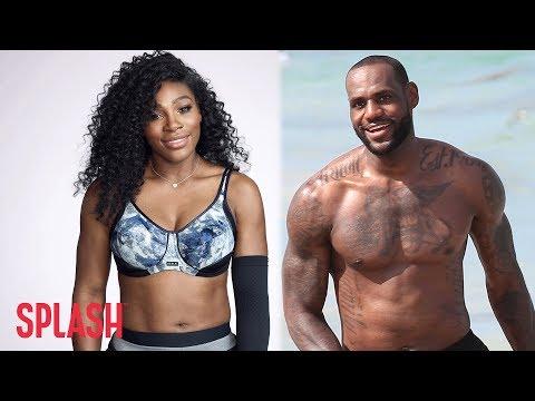 Serena Williams and LeBron James Named