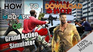 Grand Action Simulator : New York Car Gang| 'Mod Apk' | ...100%Working... screenshot 4