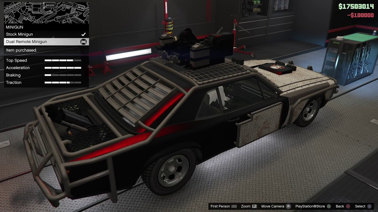 Weaponized Tampa Tuning(Car)(GTA Online)