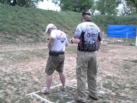 April USPSA Match at NCTA - Robert McDaniel - Stage 3