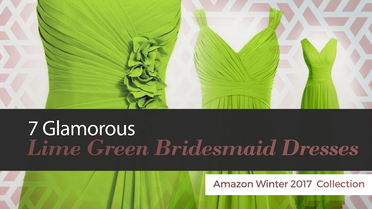 7 glamorous lime green bridesmaid dresses amazon winter 2017 7 glamorous lime green bridesmaid dresses amazon winter 2017 collection ombrellifo Choice Image