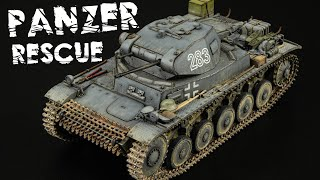 Painting And Weathering My Old Restored Panzer II - Part 2