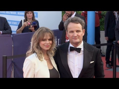 Jason Clarke photocall on the red carpet of the 2018 Deauville film festival