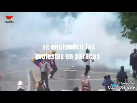 SE ENCIENDEN LAS REDES ... PROTESTAS DE ULTIMA HORA  AGOSTO 2017 VENEZUELA