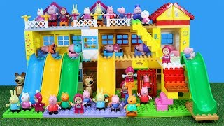 Peppa Pig Blocks Mega House Construction Sets Creative Toys For Kids #3