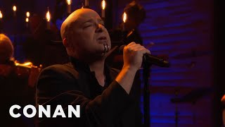 Disturbed performs a track from their album Immortalized. More CONAN @ http://teamcoco.com/video Team Coco is the official YouTube channel of late night ...