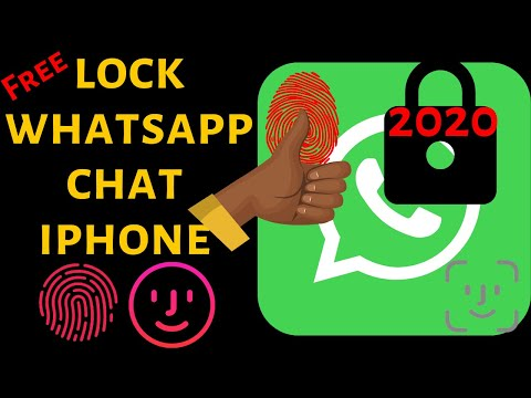 How To Lock WhatsApp On IPhone With Touch ID: Enable Fingerprint Whatsapp 2020 Turn Screen Lock On
