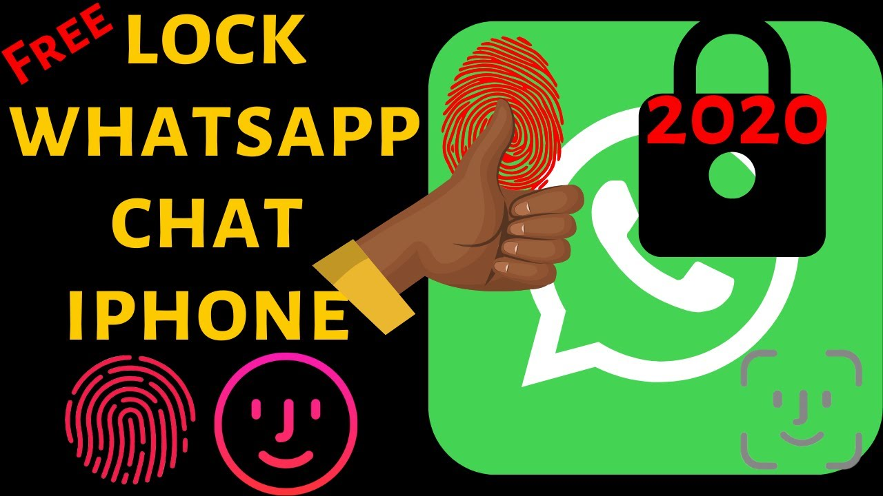 How to Set Passcode on WhatsApp on iPhone with FingerPrint: iOS 12 4