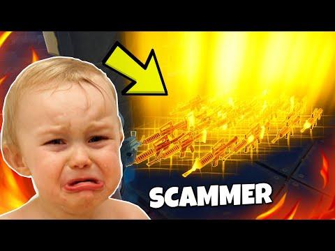 Ich gehe AFK whrend ich mit SCAMMER trade !!! Scammer Test - Fortnite Rette die Welt