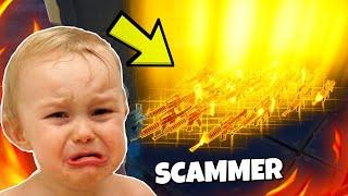 Ich gehe AFK während ich mit SCAMMER trade !!! Scammer Test - Fortnite Rette die Welt