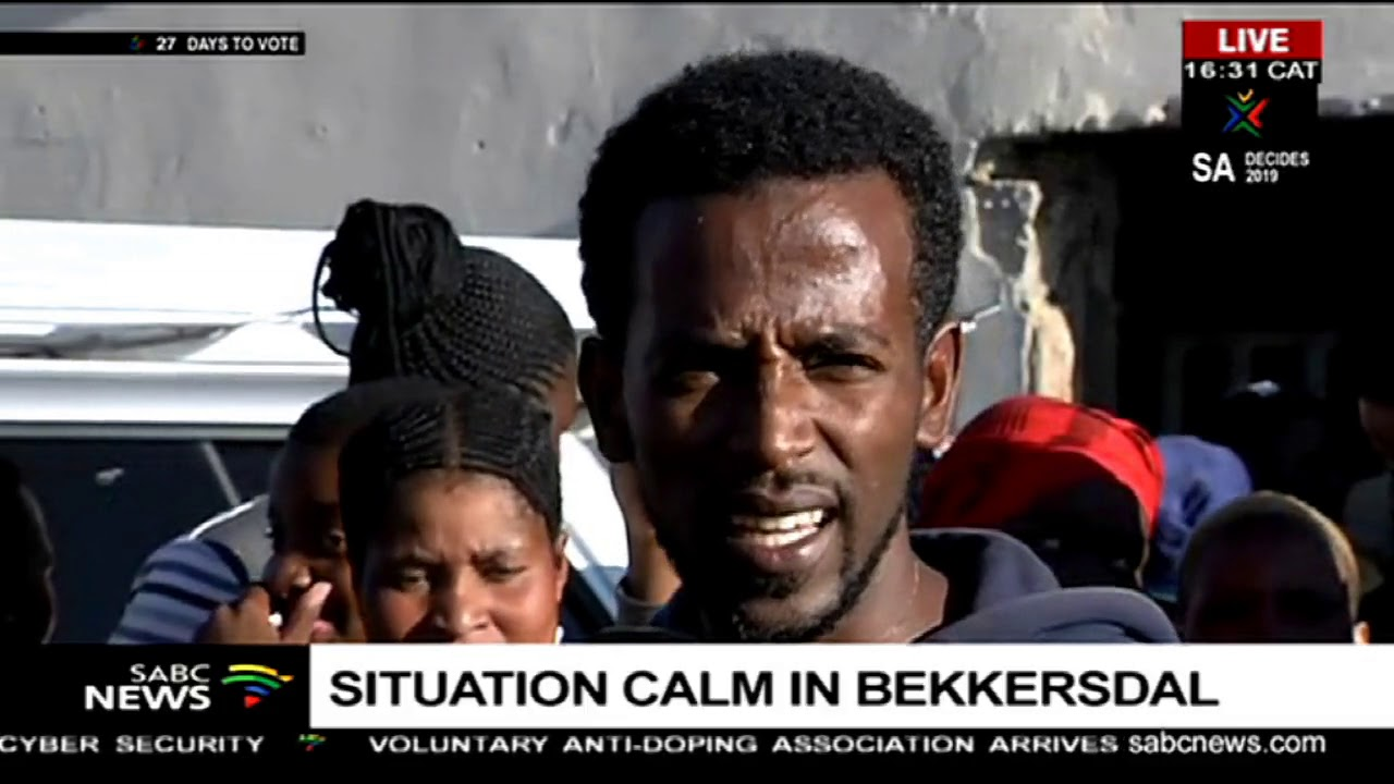Download Situation calm in Bekkersdal following protests
