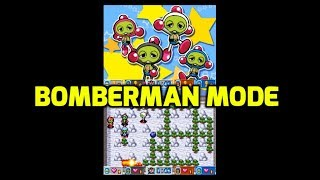 Gachapin Challenge DS (DS) - Bomberman Gameplay and Comparison