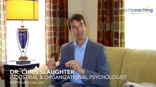 Articulate what you want ★ Coaching Testimonial ★ Dr. Chris Slaughter about Coco Decrouppe