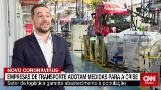Presidente da NTC&Logística, participa de entrevista na CNN Brasil