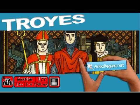 """La vidéorègle du jeu """" Troyes """" par Yahndrev (#177)"""