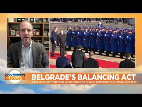 Belgrade's balancing act: Serbia plays both EU and Russia on