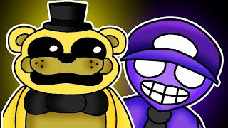Golden Freddy and Purple Guy's Secret Plan! Minecraft FNAF Roleplay