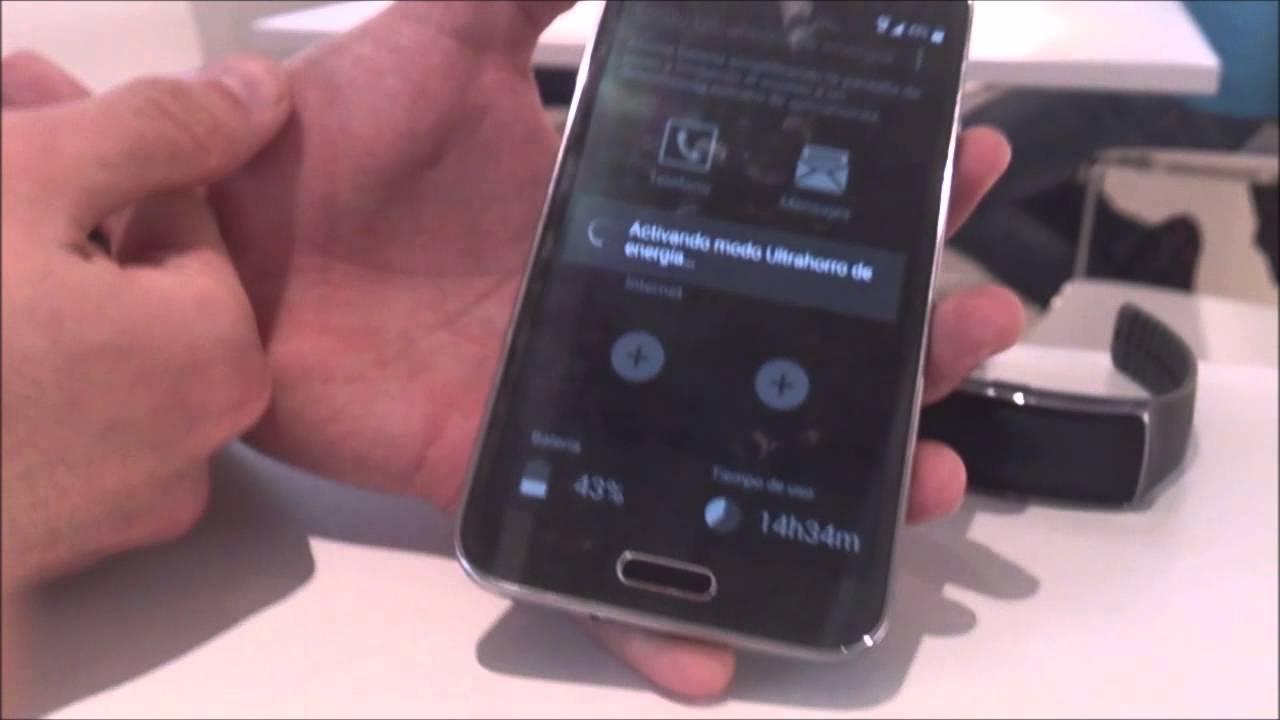 ¿Como aumentar la duración de la batería del Samsung Galaxy S5?