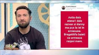 """Răzvan şi Dani, amenințați pe Facebook de un agramat: """"Astia dala atena1 dala razvan si danny"""""""