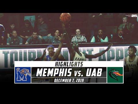 No 15 Memphis Vs. UAB Basketball Highlights (2019-20)   Stadium