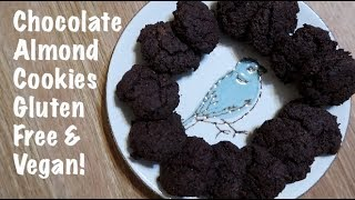Chocolate Almond Cookies Gluten Free & Vegan!