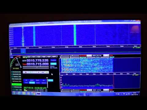 Radio Habana Cuba  on HM01 Cuban lady frequency 10715 Khz Shortwave