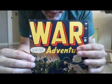 John Wayne in Korean War comics – two new pre-code war books for my collection