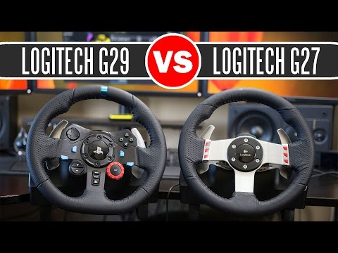 3d6fd40eb96 Logitech G29 Driving Force Racing Wheel vs Logitech G27 Force Feedback Wheel  - Full Comparison - Vloggest