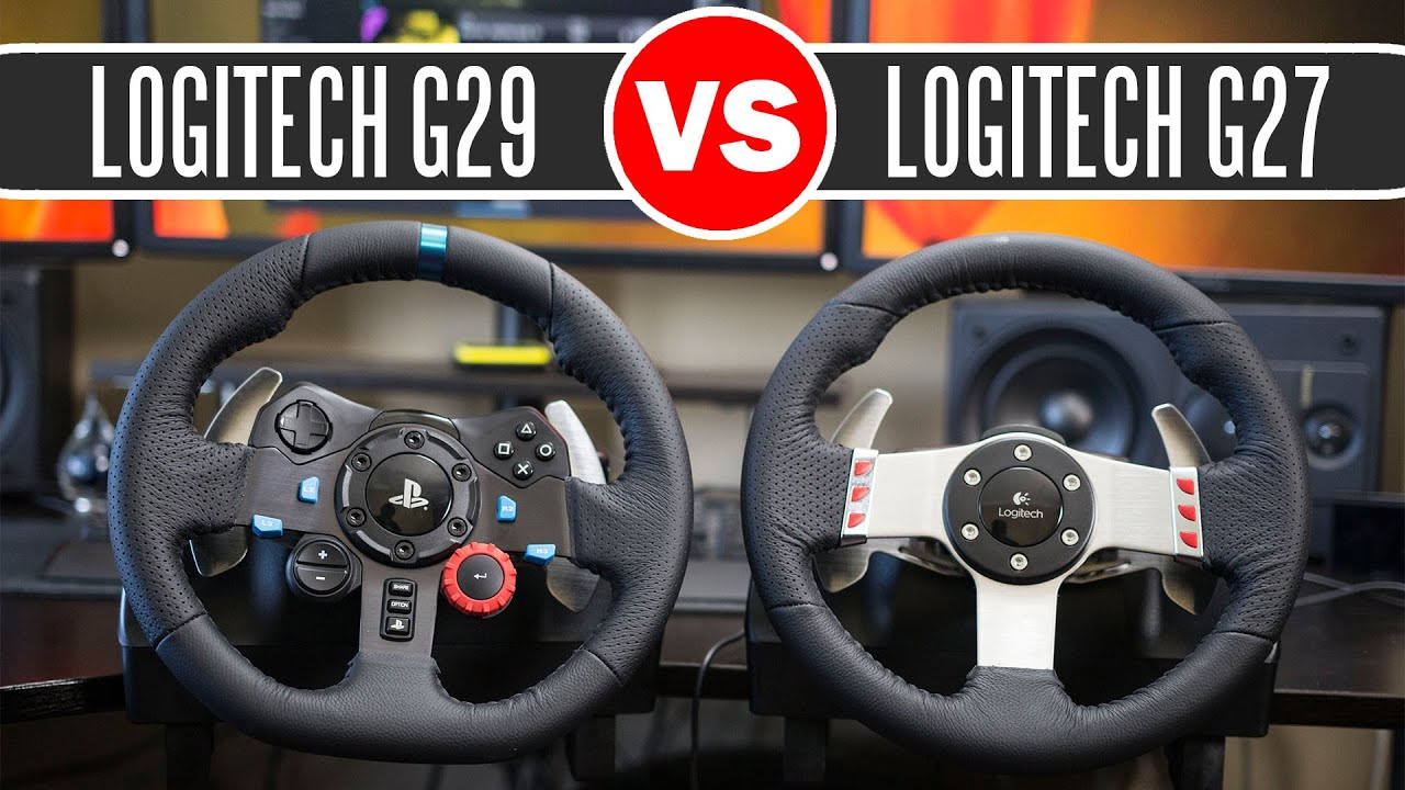 17159becb25 Logitech G29 Driving Force Racing Wheel vs Logitech G27 Force Feedback  Wheel - Full Comparison - Vloggest