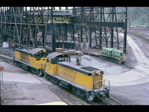 C&BL NW2's, at Bethlehem Steel, Johnstown, PA  5/07/1991