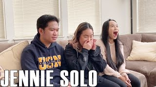 Jennie - Solo (Reaction Video)