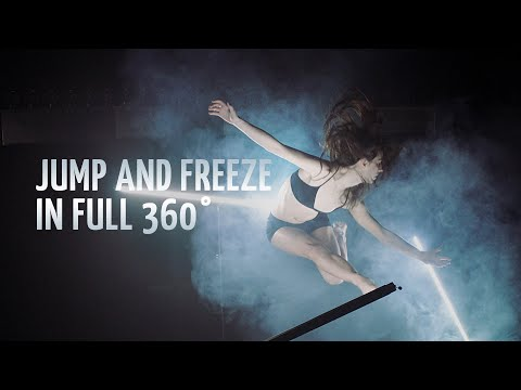 132 DSLRs cameras Jump and Freeze (bullet - time) - #127