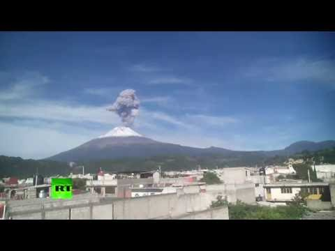 Ash and Gas: Popocatepetl volcano erupts in Mexico