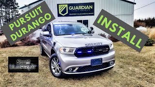 2018 Police Dodge Durango SSV with bluePRINT and mPOWER