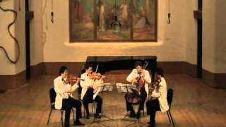 Shanghai Quartet, Ravel String Quartet in F Major, Movt. 4