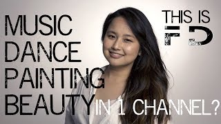 Music, Dance, Painting & Beauty in one channel? - New Youtube Channel Trailer