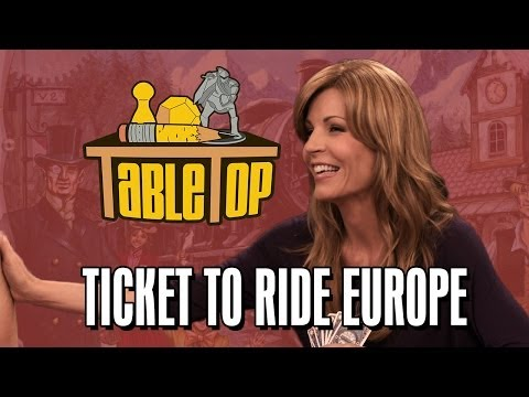 Ticket to Ride Europe: Anne Wheaton, Emma Caulfield, and Joh