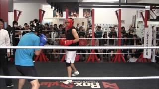 荒っぽいファイターvsアウトボクサー スパー交流会で見つけた面白対戦