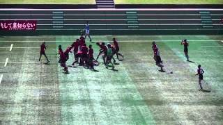 2014/10/19 中学ラグビー  伏見中vs藤森中 決勝 後半