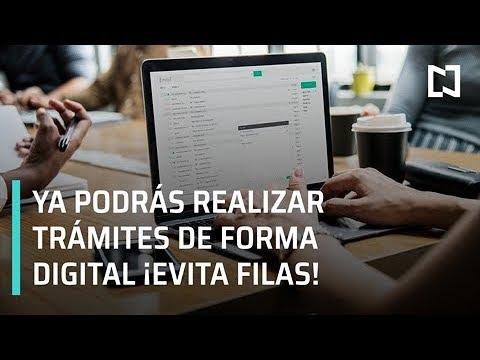 Presentan programa para simplificar y digitalizar trámites en la CDMX - Por las Mañanas
