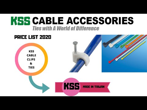 price-list-of-kss-cable-clips-and-cable-ties-made-in-taiwan
