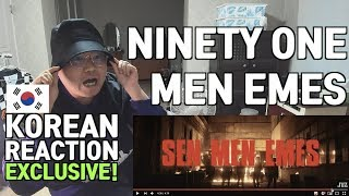 [ENG SUB][Korean Reaction] NINETY ONE - MEN EMES