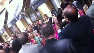 DEA Dhol Team Smash Bharaat Indian wedding entrance Waldorf Hilton London