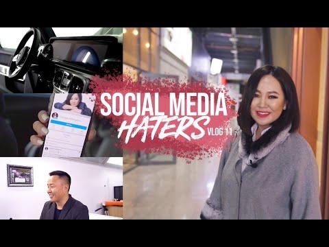 SOCIAL MEDIA HATERS | VLOG 11