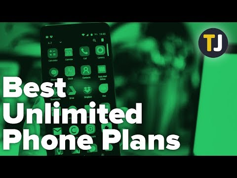 The BEST Phone Plans For Unlimited Data!
