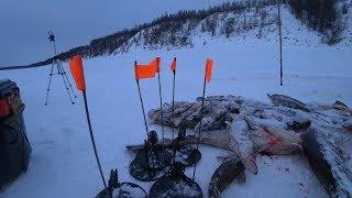 Первый лед 2019 2020 Рыбалка в Якутии Крайний день Пора домой