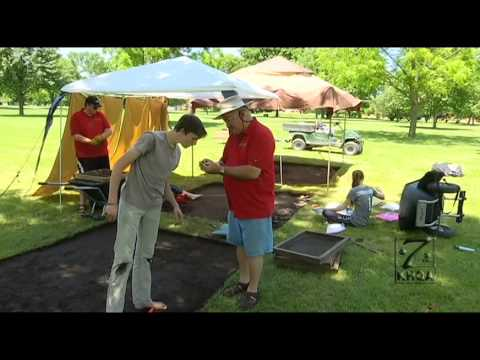KHQA: Archaeological dig in Nauvoo, IL 2015